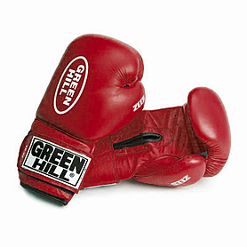 Перчатки боксерские Green Hill Zees (красные)