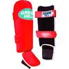Защита для ног (голень+стопа) Green Hill Somo (красная) - фото 1