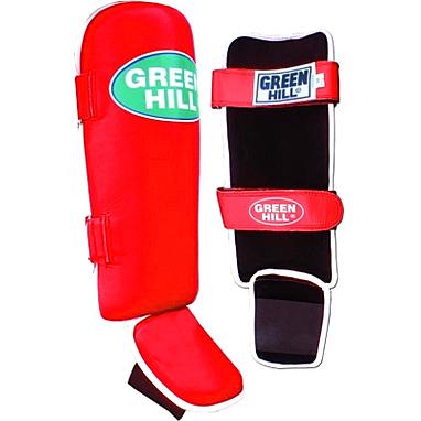 Защита для ног (голень+стопа) Green Hill Somo (красная)