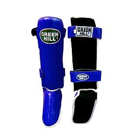 Защита для ног (голень+стопа) Green Hill Classic (синяя)