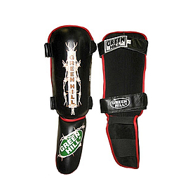 Защита для ног (голень+стопа) Green Hill Barb (черная)