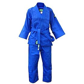 Распродажа*! Кимоно для дзюдо синее Green Hill Club - 190 см