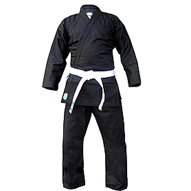 Кимоно для карате Green Hill Club черное 150 см