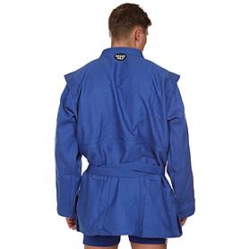 Фото 2 к товару Куртка для самбо Green Hill синяя