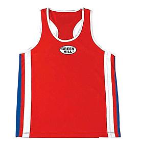 Распродажа*! Майка боксерская Green Hill Olympic (красная) - размер L