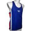 Майка боксерская Green Hill Olympic (синяя) - фото 2