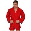 Куртка для самбо Green Hill красная - фото 1
