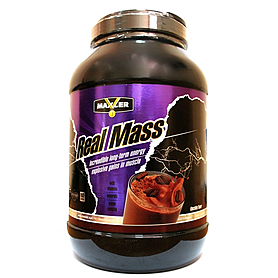 Фото 1 к товару Белково-углеводная смесь Maxler  Real Mass 2724g (6lbs)