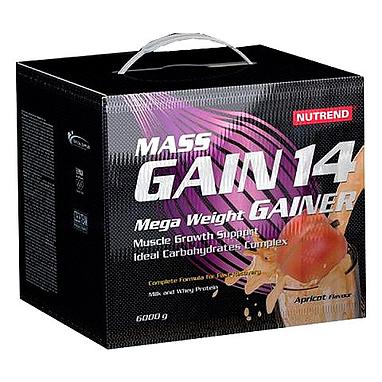 Гейнер Nutrend Mass Gain 14 (6000g)
