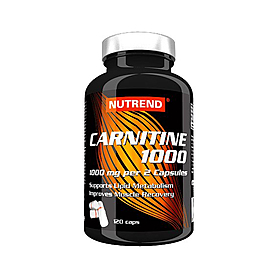 Фото 1 к товару Жиросжигатель Nutrend Carnitin 1000 (120 капсул)