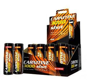 Жиросжигатель Nutrend Carnitin 3000 Shot (20x60 мл)
