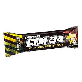Фото 1 к товару Батончик протеиновый Nutrend Compress CFM 34 (40 г)