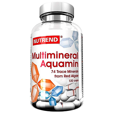 Комплекс витаминов и минералов Nutrend Multimineral Aquamin (120 капсул)