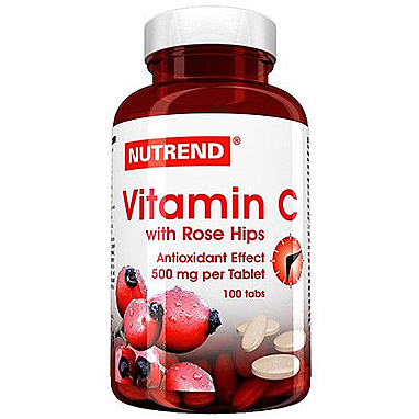Витаминный комплекс Nutrend Vitamin C with rosehips (100 таблеток)