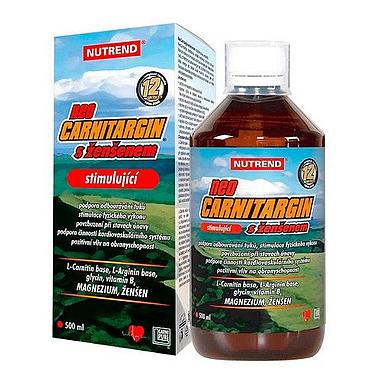 Стимулятор Neocarnitargin + ginseng Nutrend (500 мл)