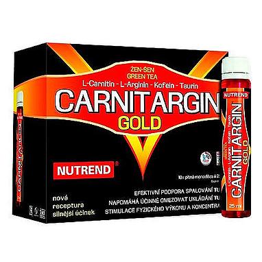 Стимулятор Nutrend Carnitargin Gold (10x25 мл)