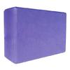 Йога-блок Pro Supra 15,5x7,5 см фиолетовый - фото 1