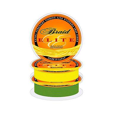 Шнур Salmo Elite Braid 150м 0,15мм 7,45кг зеленый