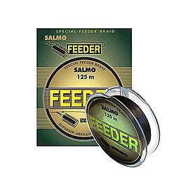 Шнур Salmo Feeder 125м 0,17мм 9,60кг коричневый