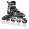 Коньки роликовые женские Rollerblade Spark 80 W Alu 2013 черно-серебристые - р. 35,5 - фото 1