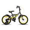Велосипед детский Pride Flash 16'' 2015 черно-желтый матовый - фото 1
