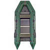 Лодка килевая моторная Kolibri КМ-360Д+жесткое дно с алюмин. профилем - фото 1
