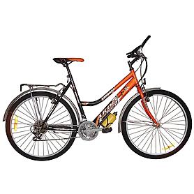 """Велосипед городской женский Ardis Santana comfort ride 2016 - 24"""", рама 19"""", оранжевый (9657315)"""