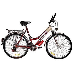 """Велосипед городской женский Ardis City bike 2016 - 26"""", рама 17"""", бежево-красный (5643738)"""