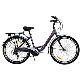 """Велосипед городской женский Optimabikes Vision 26"""" B1092 черный, рама - 16"""""""
