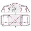Палатка восьмиместная Terra Incognita Grand 8 песочная - фото 2
