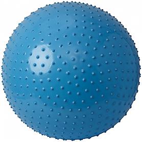 Мяч для фитнеса (фитбол) массажный 65 см Torneo