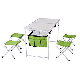 Стол раскладной + 4 стула Кемпинг ТА-484 + 4 стула