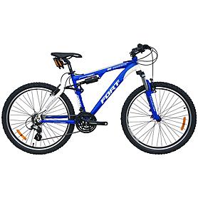 """Велосипед горный Fort Charisma 2012 - 26"""", рама - 18"""", бело-синий (BIC-09-26)"""