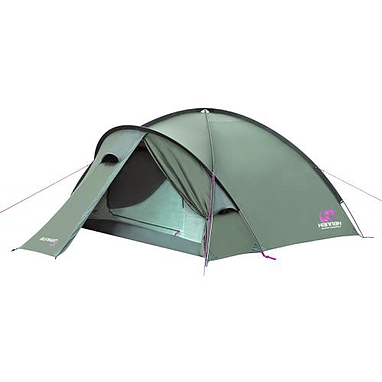 Палатка трехместная Hannah Bunker Green