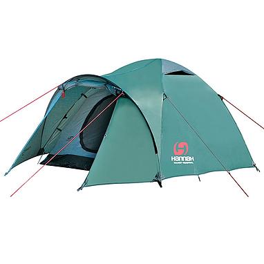Палатка трехместная Hannah Rover Green