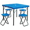Стол раскладной + 4 стула TO-8833 - фото 1