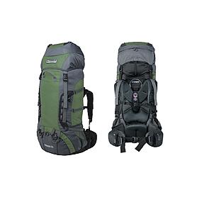 Рюкзак треккинговый Terra Incognita Rango 75 зеленый/серый