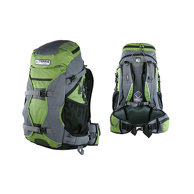 Рюкзак туристический Terra Incognita Nevado 50 зеленый/серый