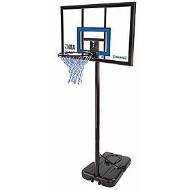 """Стойка баскетбольная (мобильная) Spalding NBA Gold Highlight 42"""" Rectangle Acrylic"""