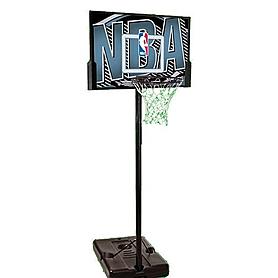 """Стойка баскетбольная (мобильная) NBA Logoman 44"""" Rectangle Composite"""