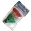 Воланы для бадминтона пластиковые Redox 978-389 (3 шт) - фото 1