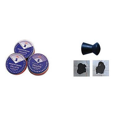 Пули пневматические Shanghai Black domed, 500 штук 4,5 мм