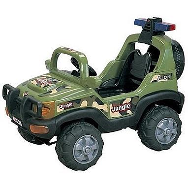 Машина электрическая детская Profi FB 958 зеленая