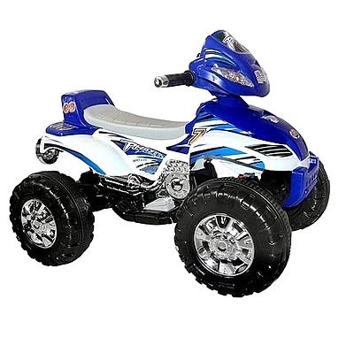 Квадроцикл электрический детский Profi Bambi M синий