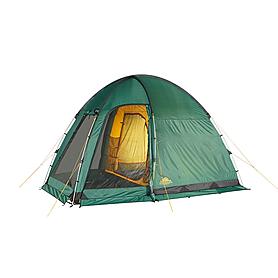 Фото 1 к товару Палатка четырехместная Minesota 4 Luxe Alexika зеленая