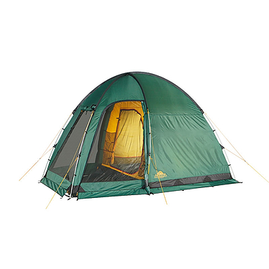 Палатка четырехместная Minesota 4 Luxe Alexika зеленая