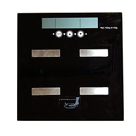 Весы стеклянные электронные TS-2 с показателем уровней жира, воды и мышц