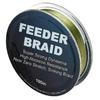 Шнур Sufix Feeder braid 100м 15lb 0,14мм 6,8кг Olive green - фото 1