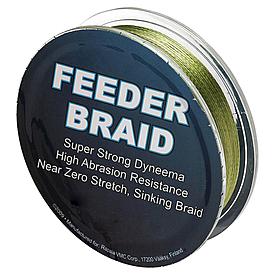 Фото 1 к товару Шнур Sufix Feeder braid 100м 20lb 0,18мм 9,1кг Olive green
