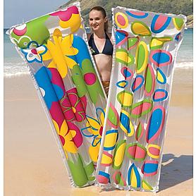 Матрас надувной пляжный DeluxComfFlowerMat Bestway 44021 (183х76 см)